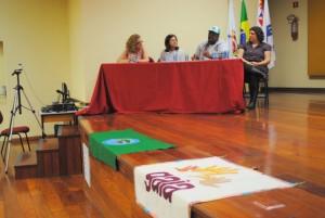 O evento foi uma realização da Coalizão Nacional contra a Incineração de lixo