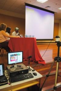 O evento foi transmitido ao vivo pela internet